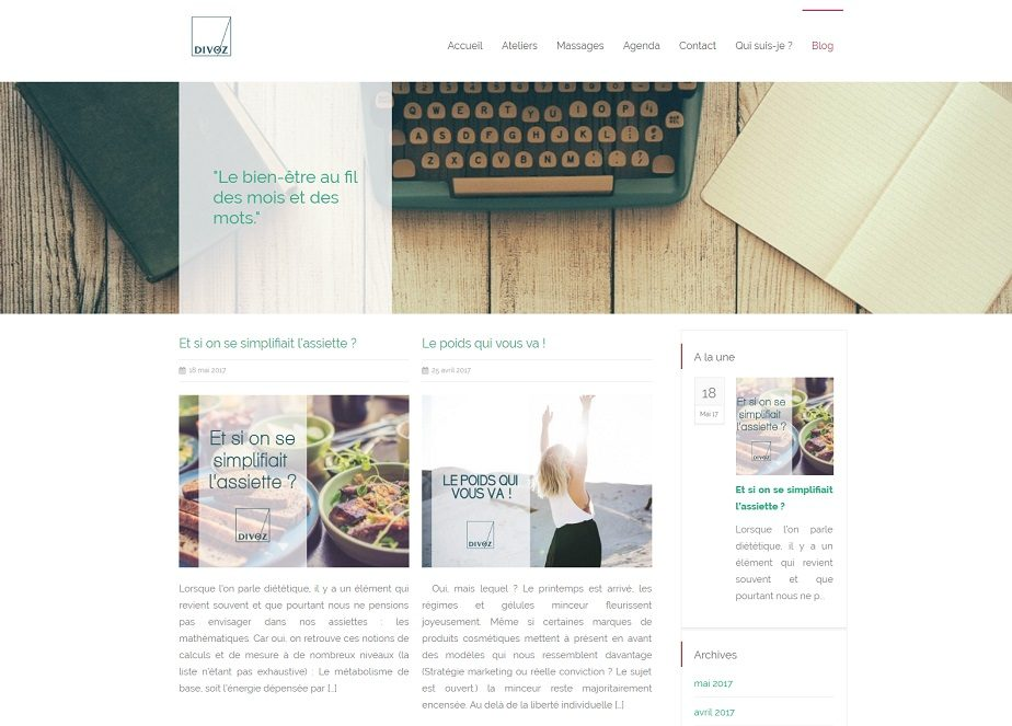 Blog Divoz